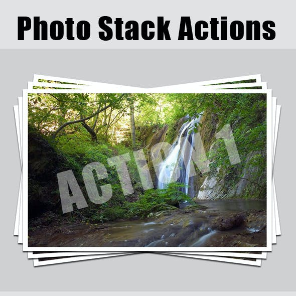 Photo Stack Actions