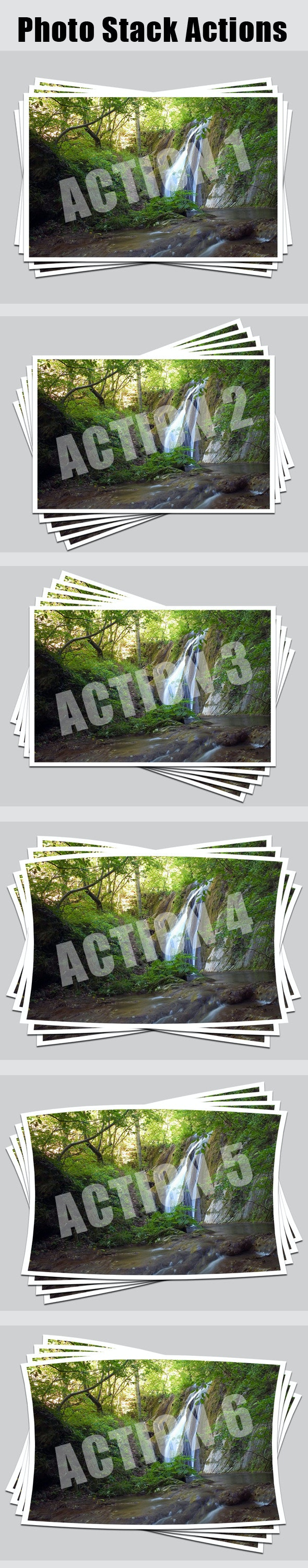 Photo Stack Actions - Utilities Actions