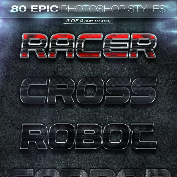 80 EPIC-Photoshop Styles 3 of 4