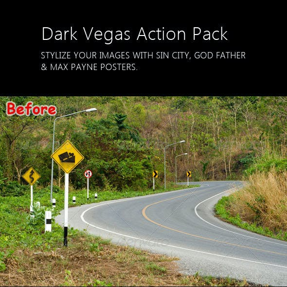 Dark Vegas Action Pack