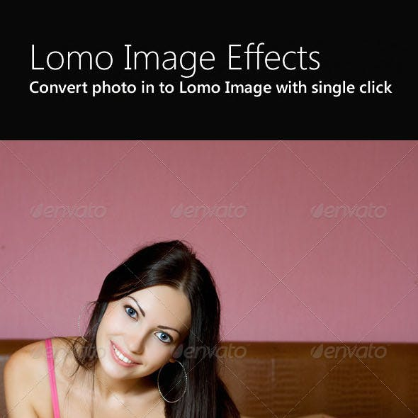 Lomo Image Effect Actions