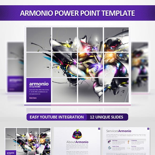 Armonio Power Point Presentation