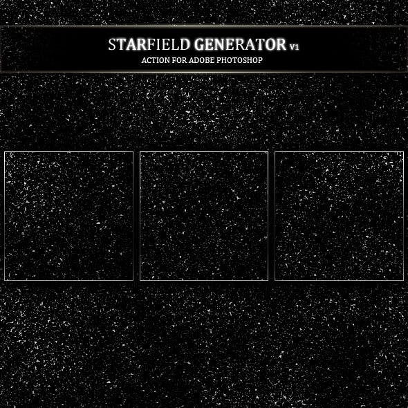 Star field Generator Action