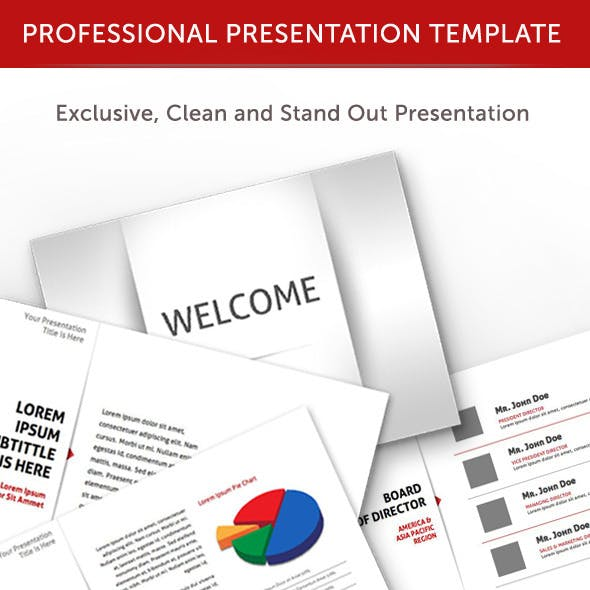 Professional Animated Keynote Template