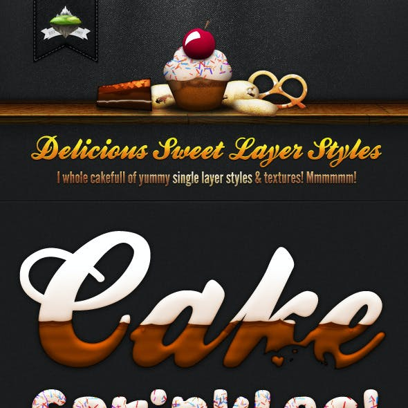 Delicious Sweet Cake Layer Styles