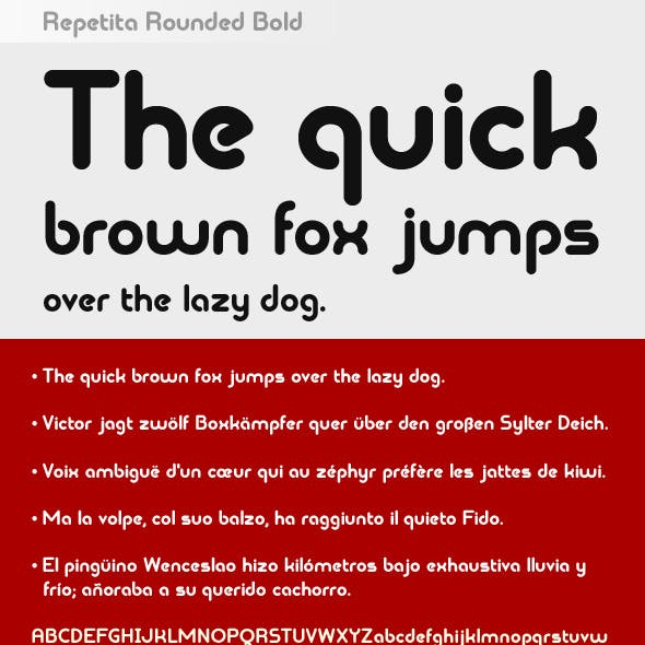 Repetita Rounded Bold