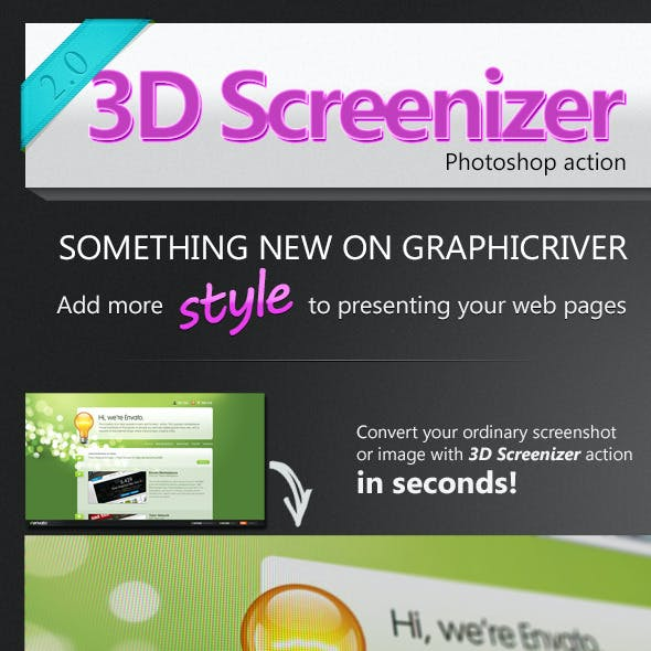 3D Screenizer