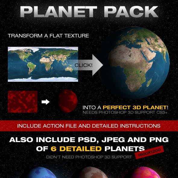 Planetize Action + Planets