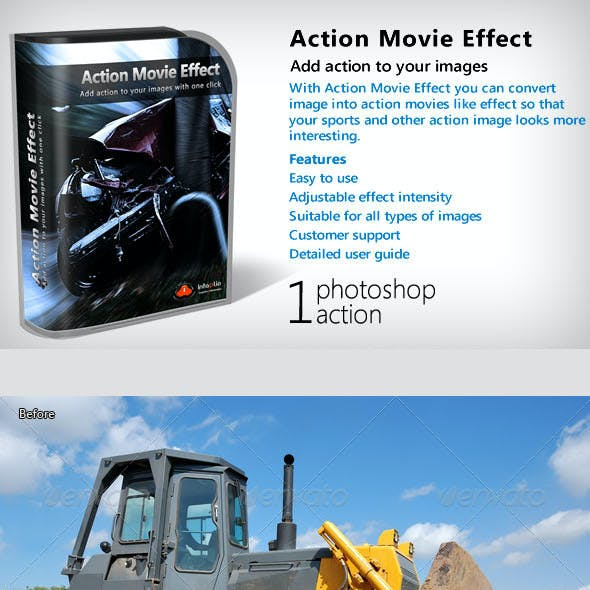Action Movie Effect