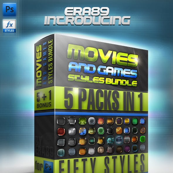 Movies & Games Styles Premium BUNDLE