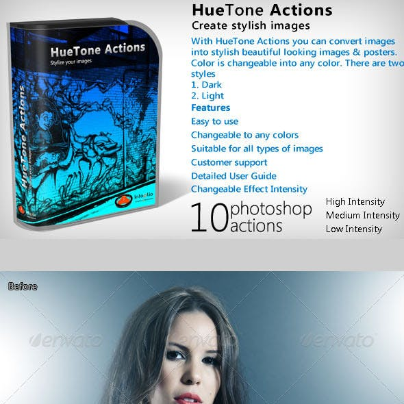 HueTone Effect Action Pack