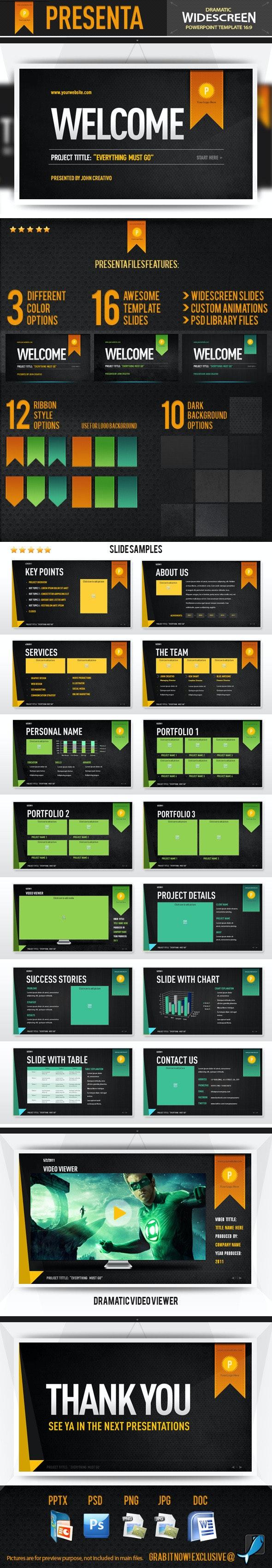 Presenta - Powerpoint Template - Creative PowerPoint Templates