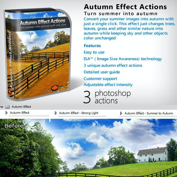 Autumn Effect Action Pack
