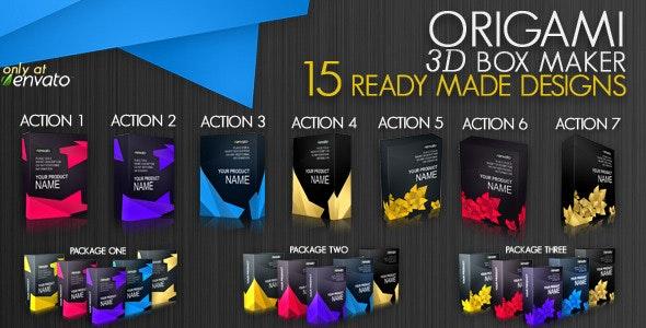 Origami 3D Box Maker - Utilities Actions