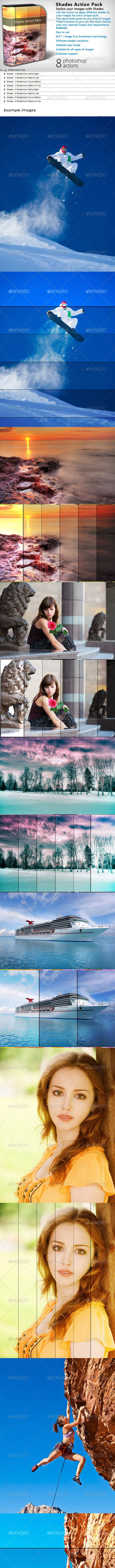 Shades Action Pack - Photo Effects Actions