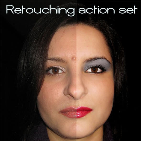 Retouching Action Set