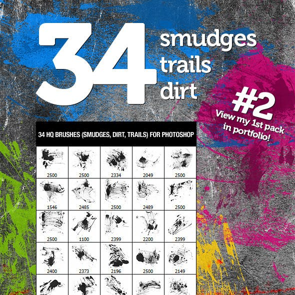 34 Dirt Smudges & Trails 2