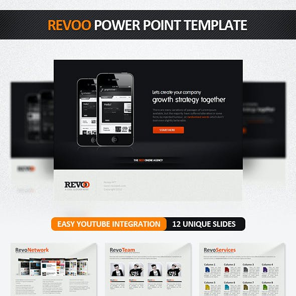 Revoo PowerPoint Presentation Template