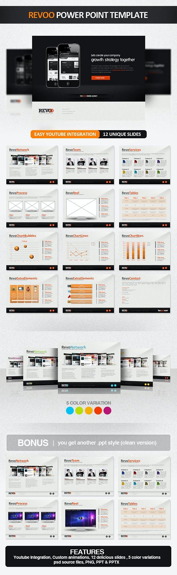 Revoo PowerPoint Presentation Template - PowerPoint Templates Presentation Templates