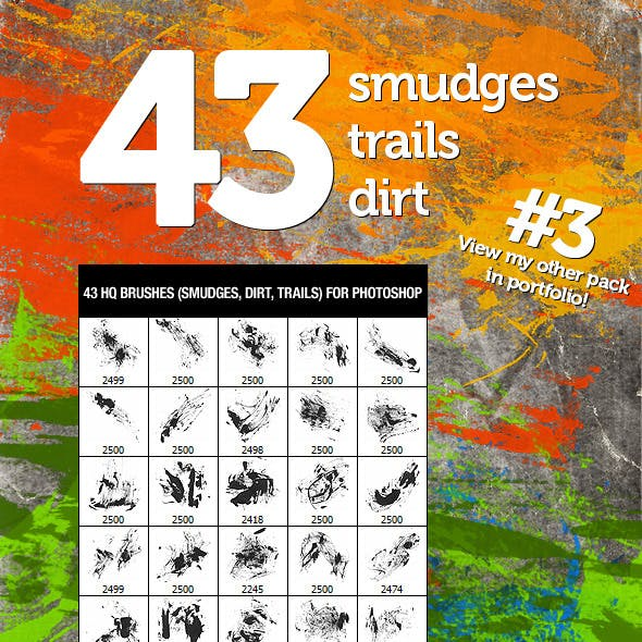 43 Dirt Smudges & Trails 3