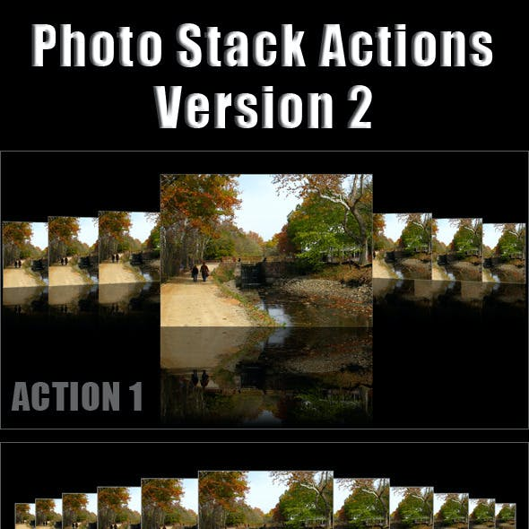 Different Photo Stack Actions