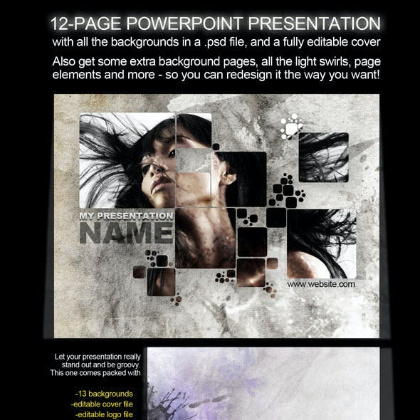 12-Page PowerPoint Presentation - Splash