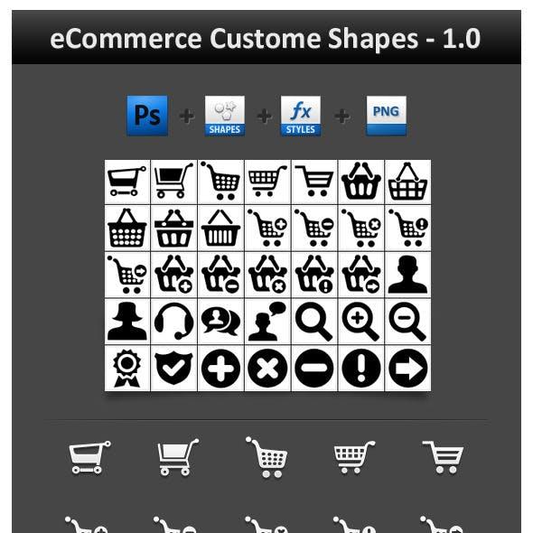 eCommerce Custom Shapes 1.0