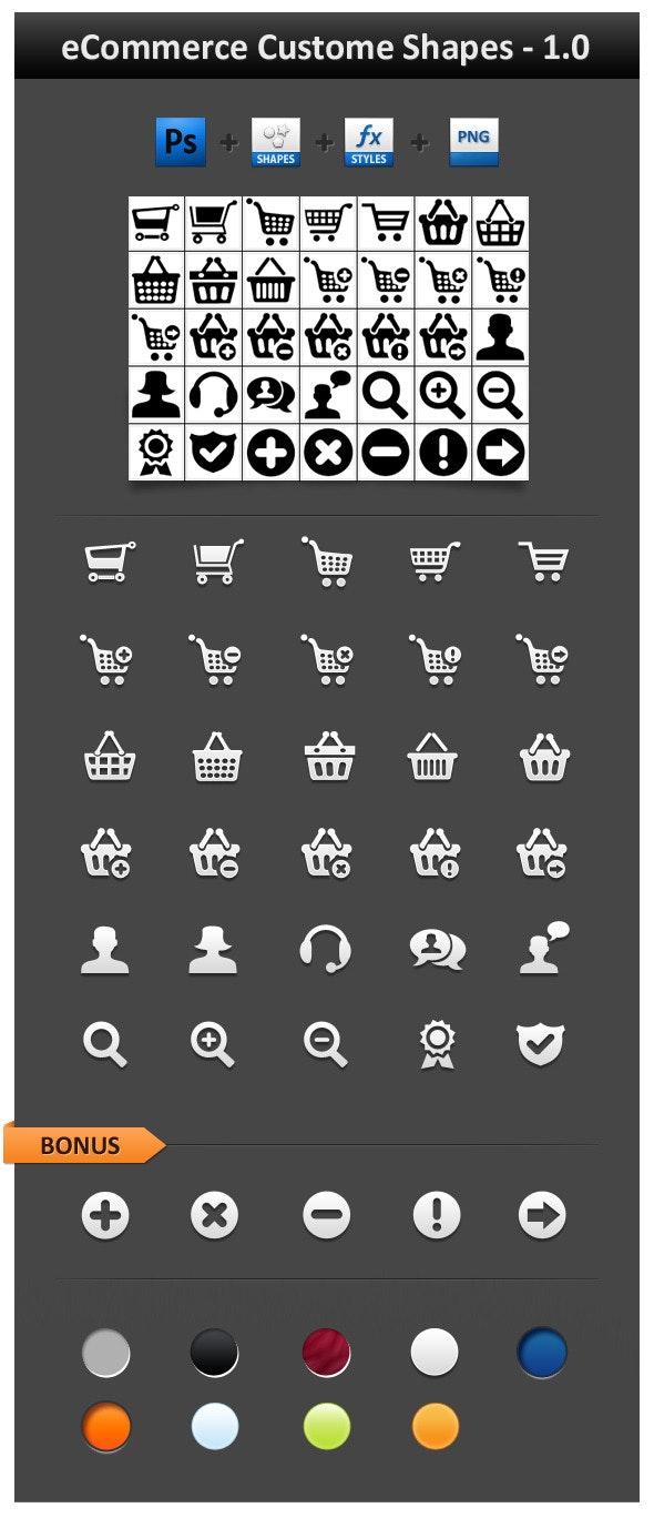 eCommerce Custom Shapes 1.0 - Objects Shapes