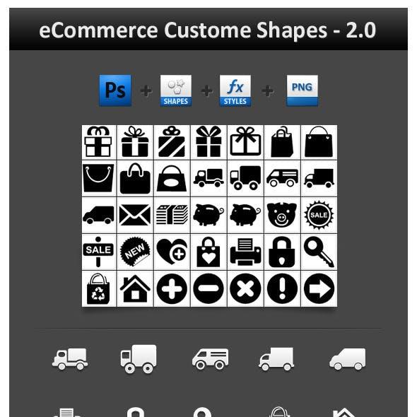 eCommerce Custom Shapes 2.0