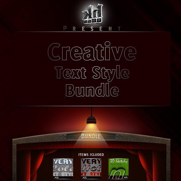 Creative Text Styles Bundle