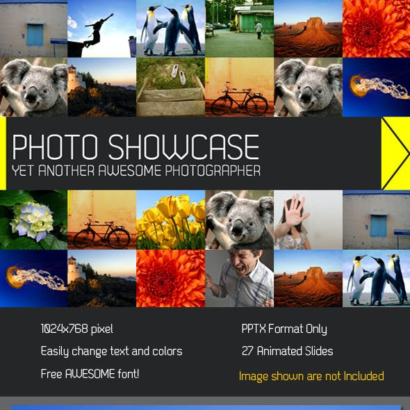 Showcase PowerPoint Presentation