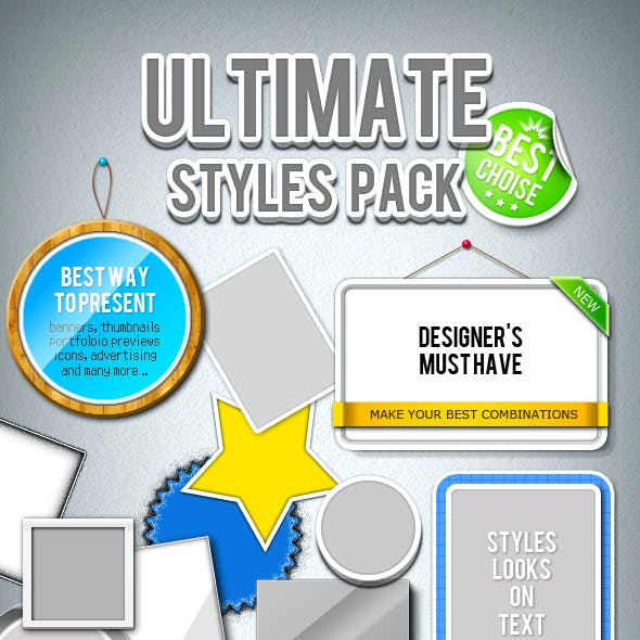 Ultimate Styles Pack for Your Frame Presentations