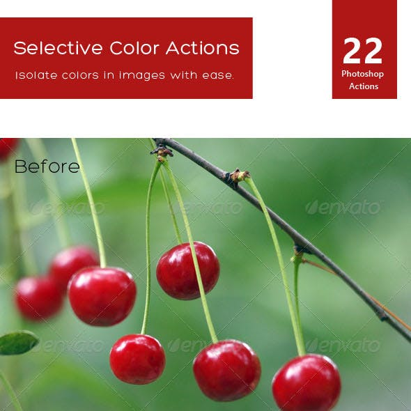 Selective Color Actions