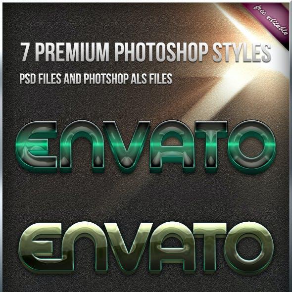7 Premium Styles