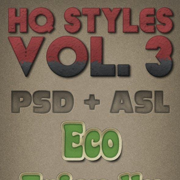 HQ Styles Vol. 3