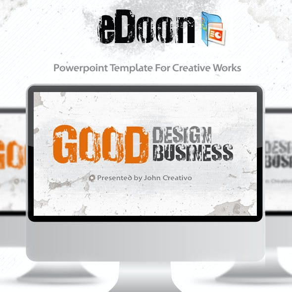 eDoon - Powerpoint Template For Creative Works