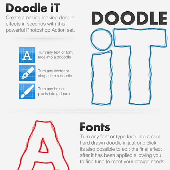 Doodling Graphics, Designs & Templates from GraphicRiver