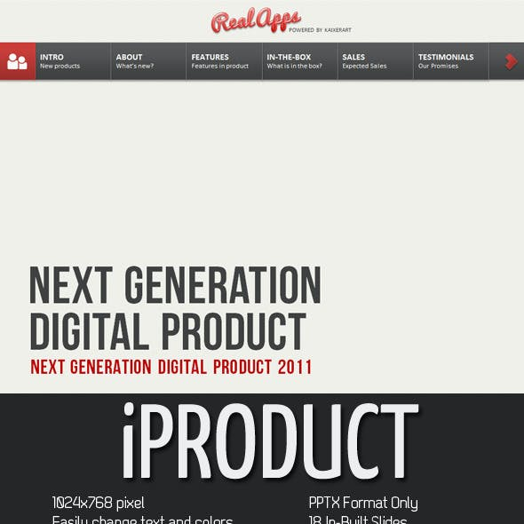 iProduct PowerPoint Presentation