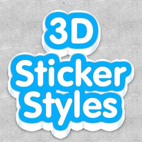Sticker Styles