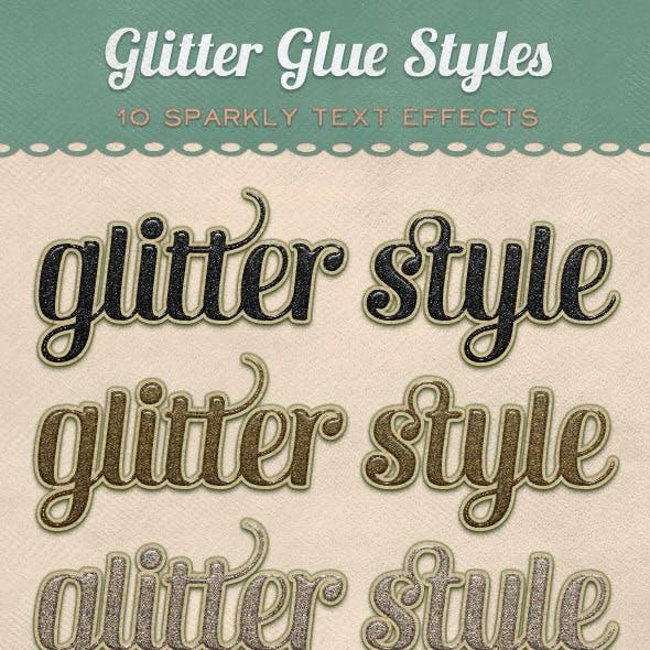 Glitter Glue Styles