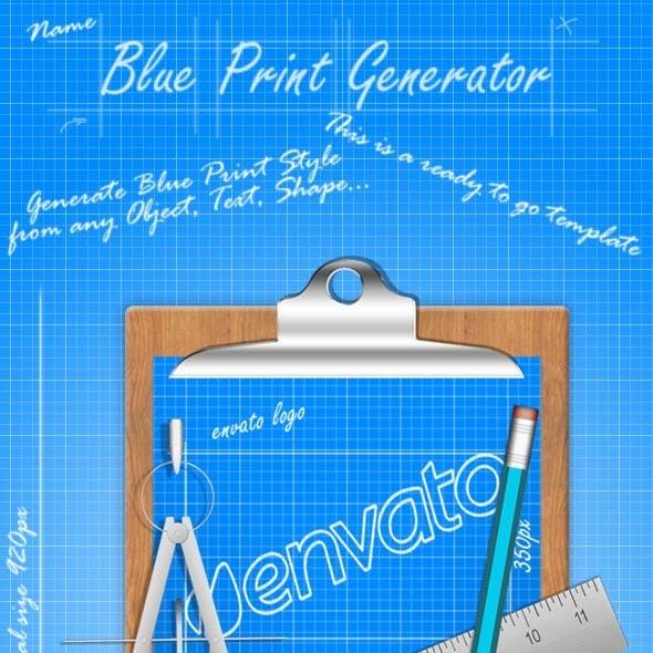 Blue Print Generator