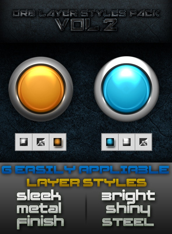 Orb Layer Styles Pack - Text Effects Styles