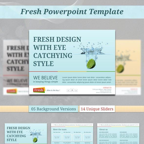 Fresh PowerPoint Template