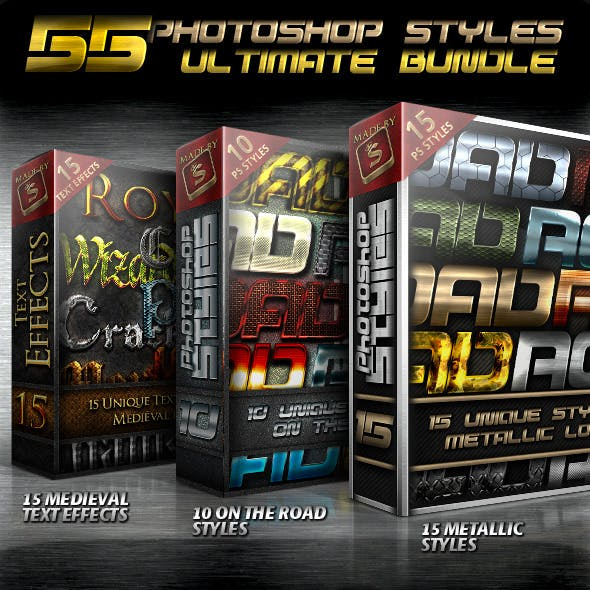 Ultimate Photoshop Styles Bundle