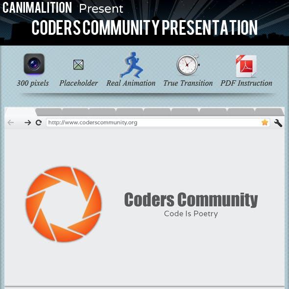 Coders Community Presentation Templates
