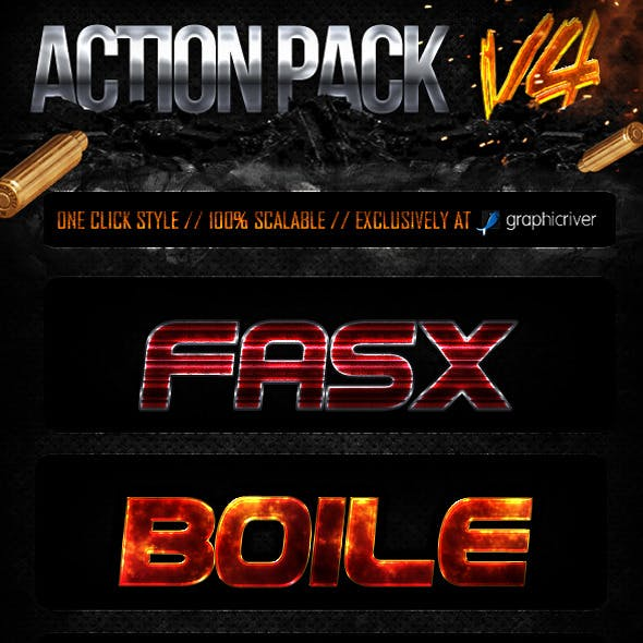 Action Style Pack V4