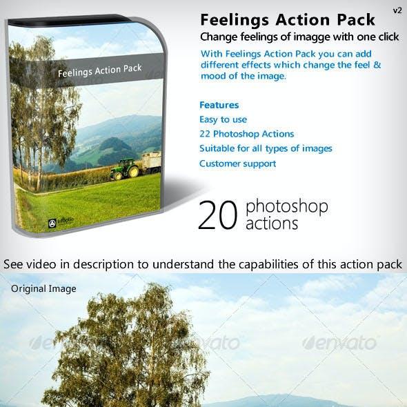Feelings Action Pack