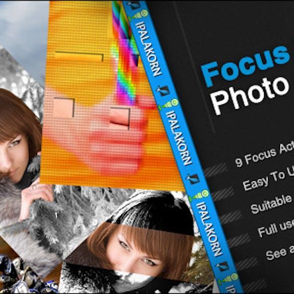 Focus Blur Photo Action