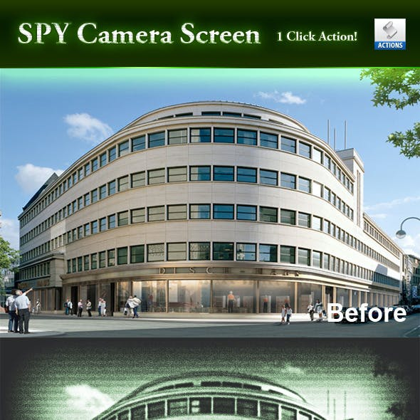 Spy Camera Screen - Action Script