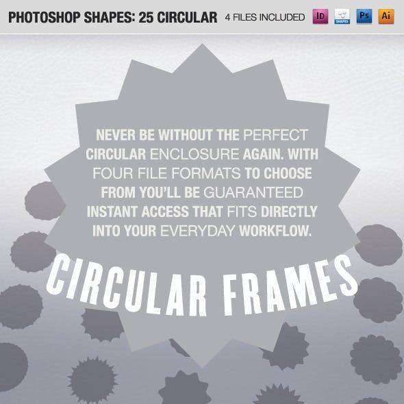 25 Circular Frames